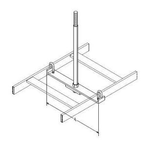 Chatsworth 12362-718 SPRT TEE BAR CBLRWAY