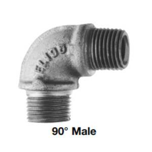 Cooper Crouse-Hinds EL4 1-1/4 NPT IRON 45 DEG FEMALE DIV 1 ELBOW