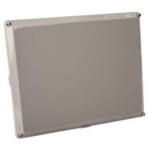 "Carlon NS64L Polycarbonate Opaque Enclosure Cover, 6"" x 4"""