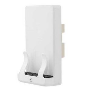 Hubbell-Wiring Kellems USB1518 Wireless Wall Mount Phone Charger, White