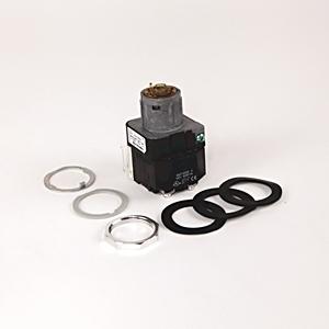 Allen-Bradley 800T-16HX2KB6AX Selector Switch, 2-Position, Illuminated, 120VAC, No Knob, 1NO/NC