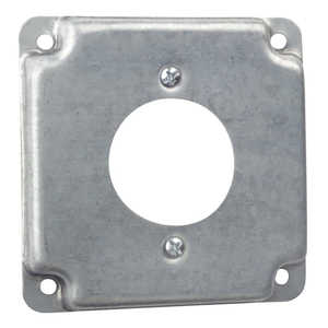"""Steel City RS-15 4"""" Square Exposed Work Cover,(1)Twist Lock Receptacle 30Amp"""