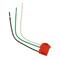 MSTWL-R RED 90DEG ANGL MOD WIRE LEAD