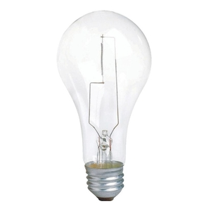 Philips Lighting 200A/CL/LL-120V-6/1-TP Incandescent Bulb, A23, 200W, 120V, Clear