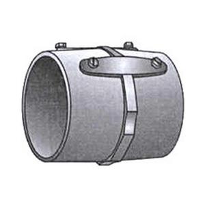 """OZ Gedney 29-500 Rigid Set Screw Coupling, Size: 5"""", Concrete Tight, Malleable Iron"""