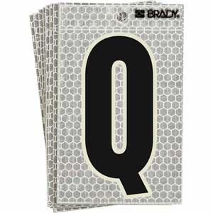 """3010-Q BRADY 3""""  SELF ADH LETTER Q 10/PK"""