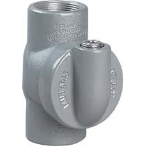 "Hubbell-Killark EYS-3 Sealing Fitting, 1"", Vertical/Horizontal, 40% Fill, Aluminum"