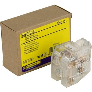 Square D 9999SO5 Auxiliary Contact, Overload Relay, NC/NC, Isolated Alarm Circuit