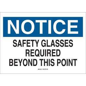 22627 EYE PROTECTION SIGN