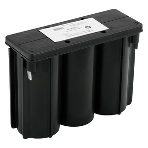 Hubbell-Dual-Lite 0120707 Sealed Pure Lead Battery, 6.0 VDC, 8.0 Ah