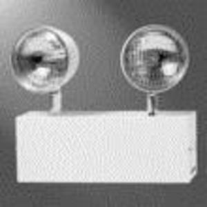 Sure-Lites XR6C Steel, 6v, (2) 12w Halogen Lamps, White