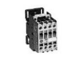 GE CL00A310T1 Contactor, IEC, 10A, 460V, 3P, 24VAC Coil, 1NO Auxiliary