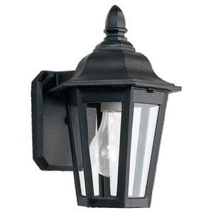 Sea Gull 8822-12 Lantern, Outdoor, 1 Light, 100W, Black