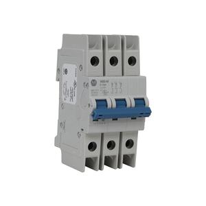 Allen-Bradley 1489-M3C060 Breaker, Miniature, 6A, 3P, 480Y/277VAC