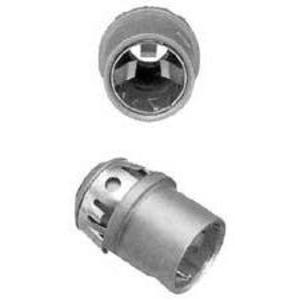 "Arlington 40AST MC/AC/Flex Connector, 3/8"", Insulated, Zinc Die Cast"