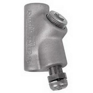 """Appleton EYDEF75 Sealing Fitting, Vertical, Size: 3/4"""", Female, Malleable Iron"""