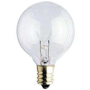Westinghouse Lighting 0383100 Incandescent Bulb, G12-1/2, 10W, 120V, Clear