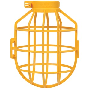 Bergen IC-200 Bulb Protector, Yellow, Plastic, 150W Max