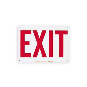 Brady 41054 Directional & Exit Sign