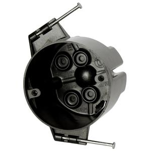 """Allied Moulded PC213-N 3.5"""" Dia. Round Fixture Support Box"""
