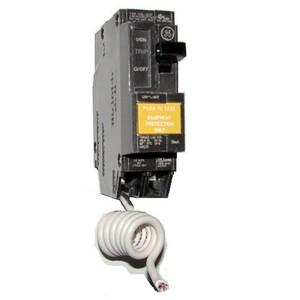 GE Industrial THQL1120GFEP Breaker, 20A, 1P, 120/240V, 10 kAIC, Q-Line Series, GFCIEP