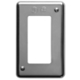 DS32 1 GANG STEEL SWITCH PLATE