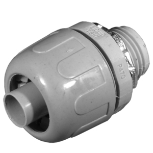 "Appleton NMM-31 Liquidtight Connector, Straight, 1"", Non-Metallic"