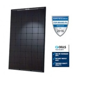 Q CELLS Q-PEAK-BLK-G4.1-290 Solar Module, Monocrystalline, 290W, 60 Cells, Black Frame