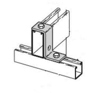 Eaton B-Line B110HDG Three-Hole Offset Z-Support for B11 Channel, Hot Dip Galvanized