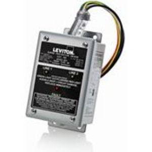 Leviton 42277-DY3 Surge Protection Device, Whole House, 277/480V, 3P, Panel Mount