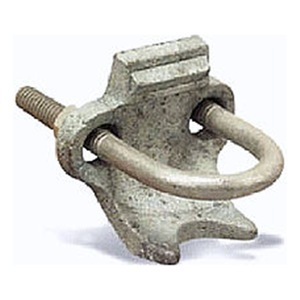 "Appleton PC-300RA Conduit Clamp, 3"", Right Angle, Malleable Iron"