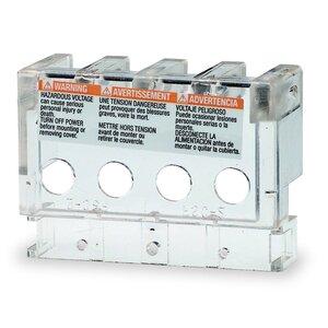 Square D 9070FSC23 Transformer, Finger-Safe Terminal Cover, 25VA-5kVA, 2 per Kit