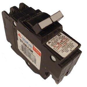 American Circuit Breakers 0250 50A, 2P, 120/240V, 10 kAIC CB, Small Frame