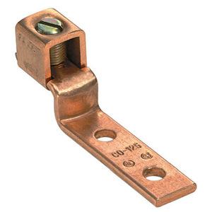 Panduit CO70-14SL-QY 2-Hole Copper Offset Lug