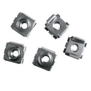 Middle Atlantic Products CN1032-50 Cage Nut, #10-32, Fits RackRail, WRK, MRK, DRK Style, Package (50)