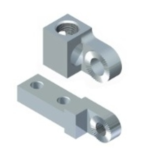 Connector Manufacturing Company RL-LA750R-LRB CMC RL-LA750R-LRB RIGHT ONE HOLE