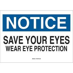 22630 EYE PROTECTION SIGN