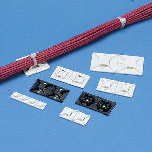 """Panduit ABM3H-AT-L Cable Tie Mount, Hi Temp. Adh., 1.5""""x1.5"""