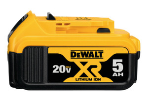 DEWALT DCB205 20V Max XR® Lithium Ion Battery (5.0Ah)