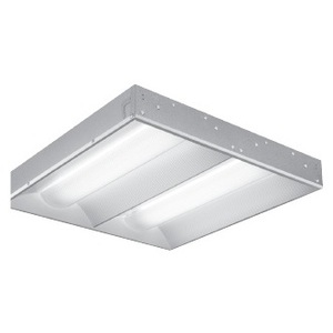 Lithonia Lighting 2RT514T5MVOLTGEB115LP835PWS1836 Volumetric Recessed Fixture, 2', 2-Lamp, T5, 120/277V, 14W