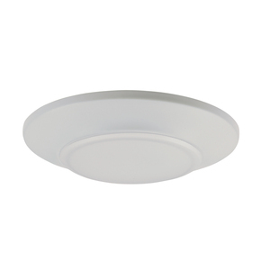Maxim Lighting 57625WTWT Flush Mount LED Luminaire, 15W, 1000L, 2700K, 120V, White