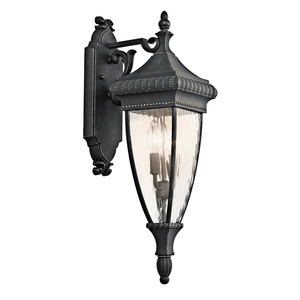 Kichler 49131BKG OUTDOOR WALL LANTERN *** Discontinued ***
