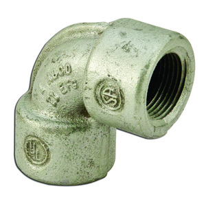 "Cooper Crouse-Hinds EL59SA Elbow, Male/Female, 90°, Size: 1-1/2"", Explosionproof, Aluminum"