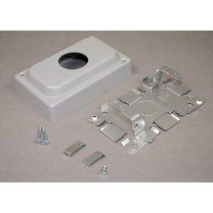 Wiremold 1546A Nm Single Recpt Box 1500 Gray