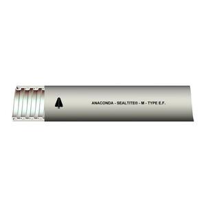 """Anamet 39412 Liquidtight Flexible Metal Conduit, Type EF, 1/2"""", Gray, 100'"""