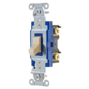 Hubbell-Wiring Kellems 1201AL SWITCH, HUBPRO, 1-POLE, 15A 120/277V, AL