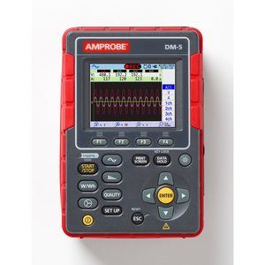 Amprobe DM-5 DM-5 Power Quality Analyzer