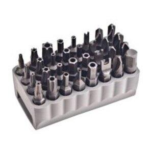 Klein 32525 32-Piece Tamperproof Bit Set
