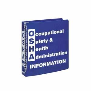 BR806E PRINZING OSHA INFORMATION BINDER