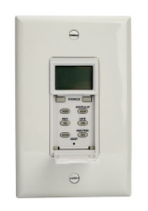 NSI Tork SS705Z Astro Wall Switch Timer No Neutral 15A 120V Rated for LED White *** Discontinued ***